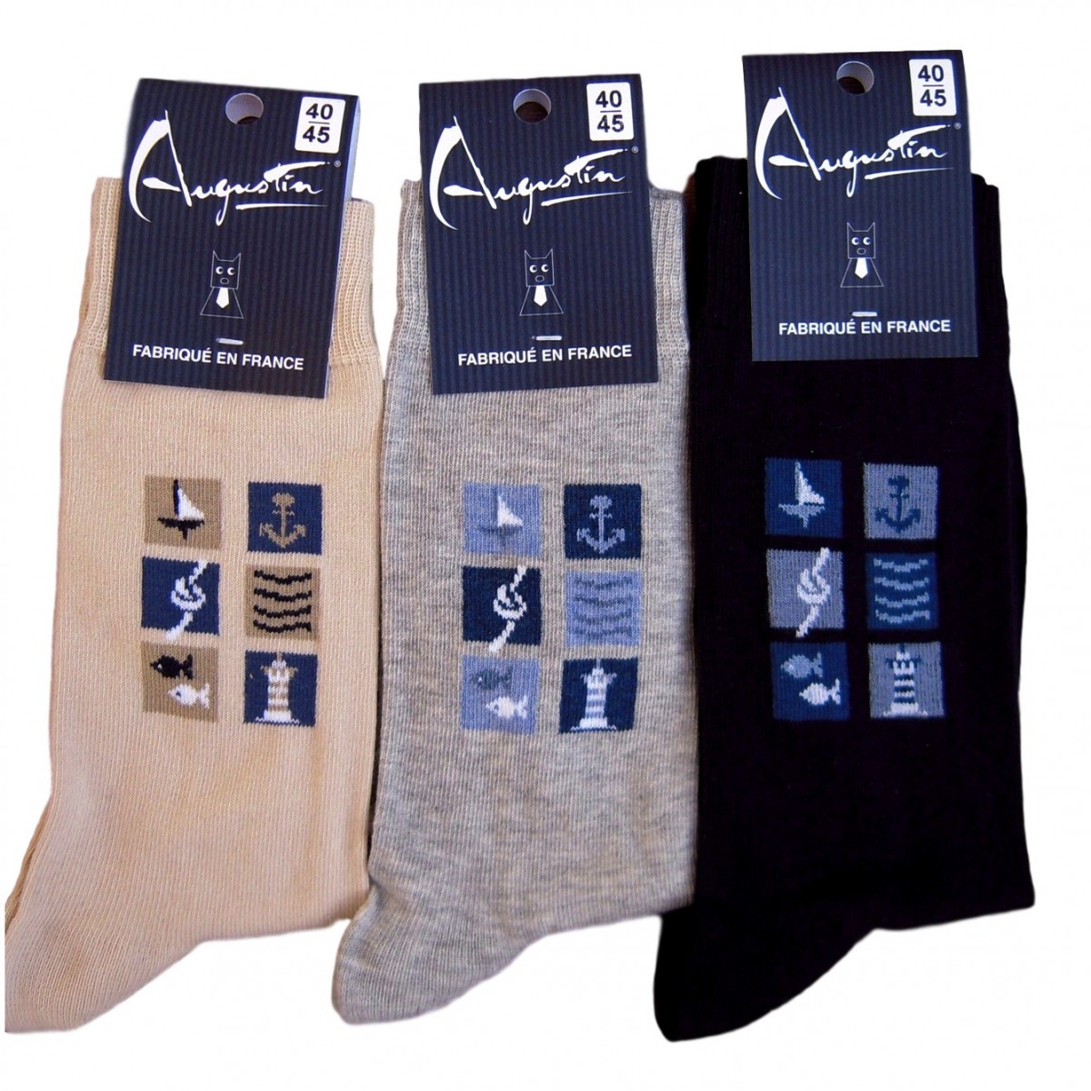 Socks nautical designs