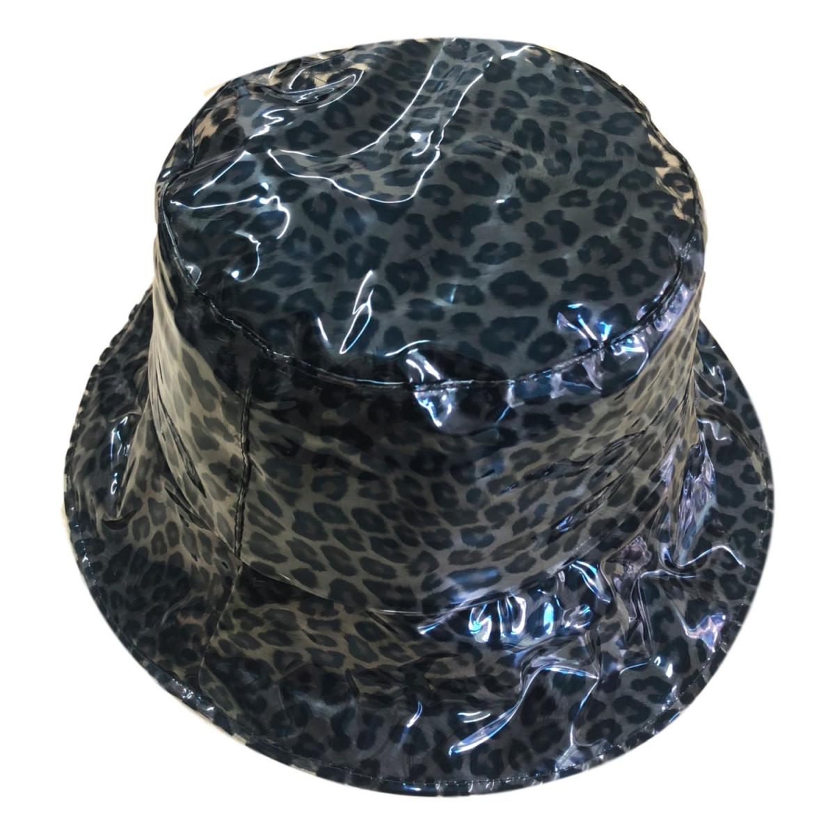 Leopard rain hat