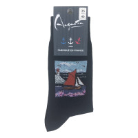 calcetines quilla de barco de vela