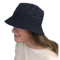 Sombrero de lluvia azul marino