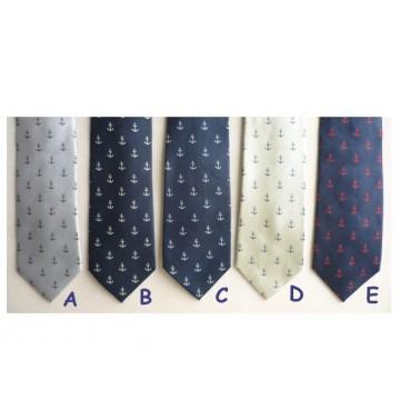 Cravate Ancre