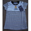Striped dress for baby
