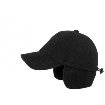 Fleece cap with neck protector