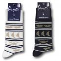 Socks knots with stripes