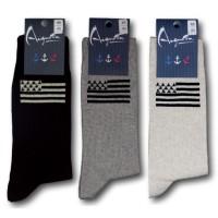 Socken mit bretonischer Flagge Gwenn Ha Du