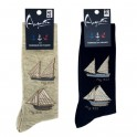 sailing ship socks