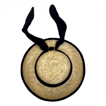 Chapeau breton en paille (le véritable)