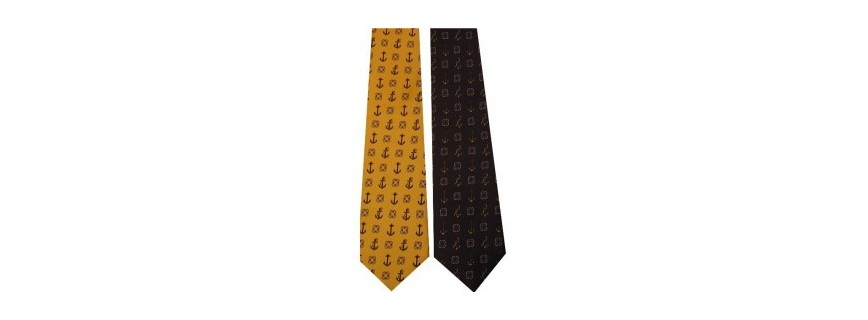 Neckties nautical