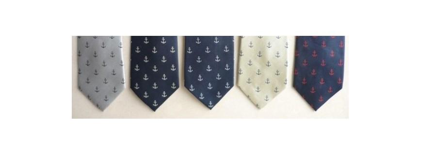 Neckties nautical